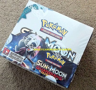 POKEMON SUN & AND MOON GUARDIANS RISING BOOSTER BOX FREE PRIORITY SHIPPING