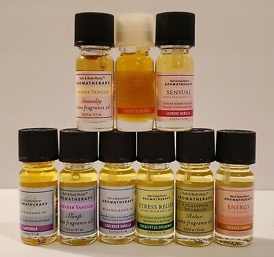 Bath & Body Works White Barn Candle Aromatherapy Home Fragrance Oil You Pick NEW Candle Home Fragrance Oil