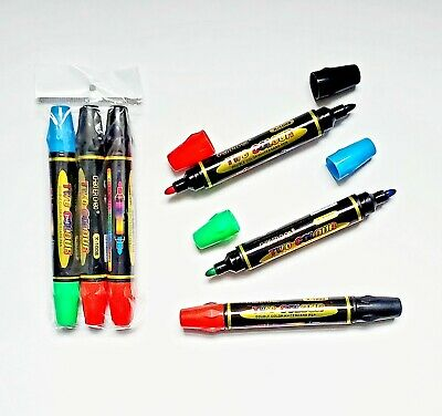 Lot Of 36 Pieces - Double Sided Whiteboard Dry Erase Markers