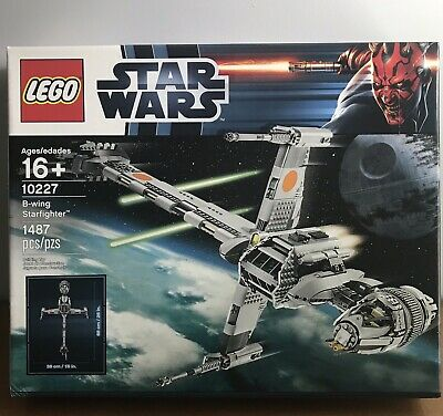 LEGO 10227 - Star Wars: B-Wing Starfighter - New In Box Factory Sealed