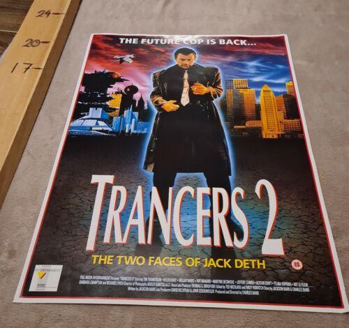 Trancers 2/Trancers II (1991) Sci-fi - UK video poster - FREE SHIPPING