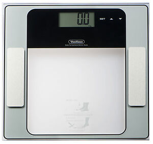 Digital LCD Body Fat Analyser Bathroom Scale Composition BMI Weighing Calorie