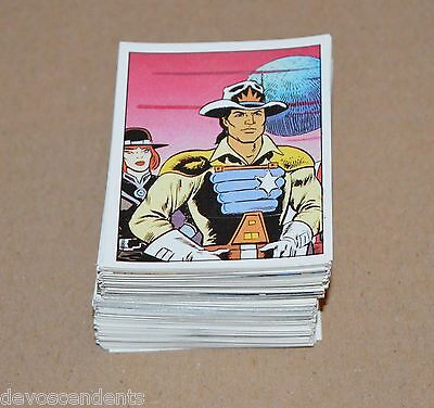 1986 PANINI Bravestarr Filmation CHOOSE ANY 10 Stickers From the list