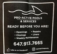 Pro-Active Pools & Service's