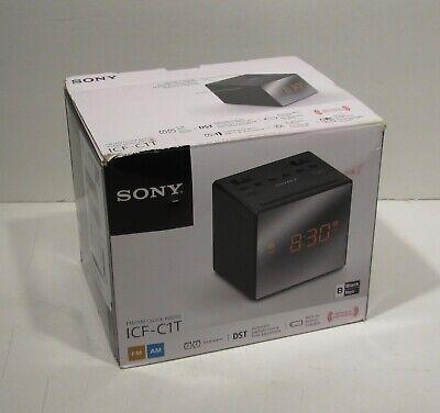 Sony ICF-C1T AM/FM Dual Alarm Clock Radio ICF C1T FM/AM Clock Radio