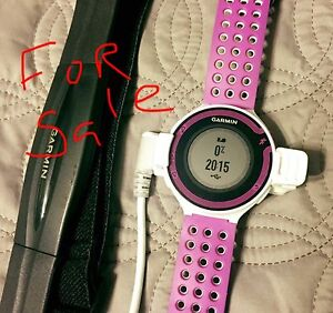 Garmin 220 running watch with Heart Rate Monitor (strap)