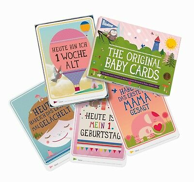 Milestone™- The Original Baby Cards - Fotokarten - deutsche Version