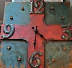 Industrial Beaux Arts Wall Clock