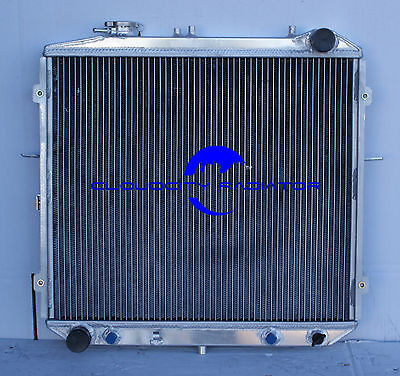 All aluminum radiator for 1995 2001 Kia Sportage   Row 2  Fit For 20L I4 Engin