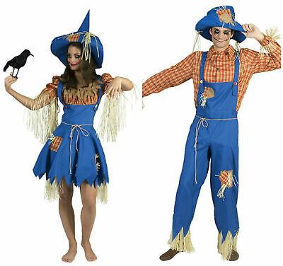 Kostüm Vogelscheuche Landstreicher Vagabund m Hut Damen Herren Karneval Fasching ()