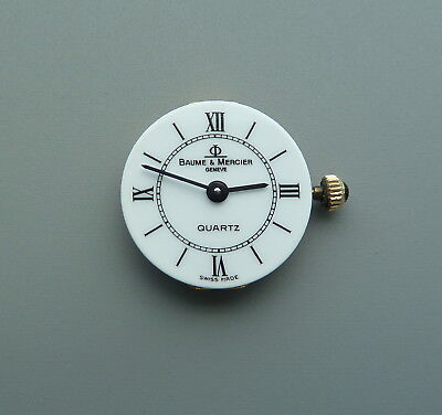 LDS BAUME & MERCIER WATCH DIAL WITH MOVEMENT FOR PARTS / REPAIR