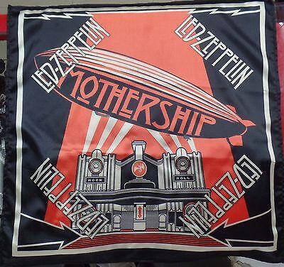 LED ZEPPELIN Mothership The Best Greatest Hits BANDANA HEAD WRAP HANDKERCHIEF CD