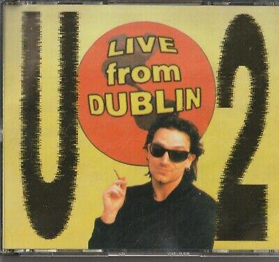 U2-Live from Dublin (2 CD) 1993RARE BOOTLEG comprar usado  Enviando para Brazil