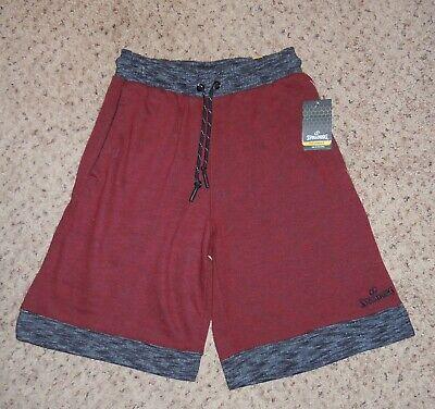 MEN SHORTS SPALDING SIZE S RED NWT DRAWSTRING TWO FRONT POCKETS  Drawstring Two Pocket Shorts