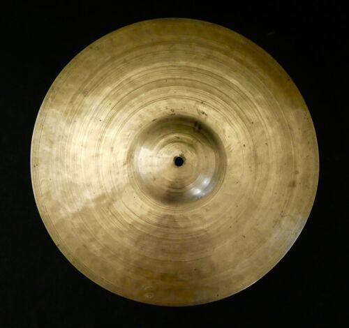 K.Zildjian & Cie Constantinople Orchestra Cymbal. Handwritten signature.Pre-1920