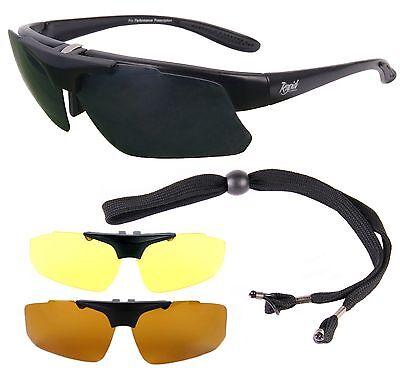 POLARISATIONSBRILLE ANGELN Sonnenbrille mit Sehstärke (clip) für Brillenträger