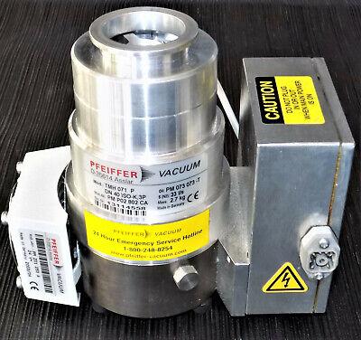 Pfeiffer Tmh 071 P Turbo Vacuum Pump With Tc600 Controller