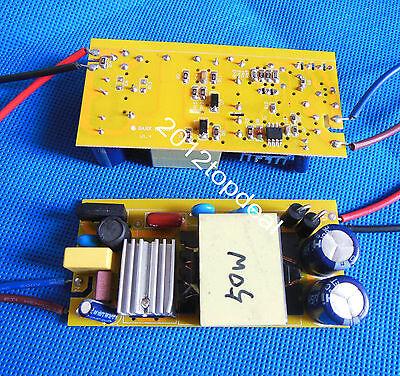 1pcs Led Power Supply Driver 50w For 50w High Power Led Light Lamp Bulb 85-265v