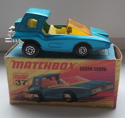 Matchbox Car Soopa Coopa MINT Condition with Box