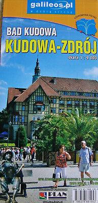 Kudowa-Zdroj - Bad Kudowa und  Karte der Umgebung von Bad Kudowa Niederschlesien