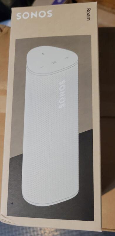 BRAND NEW SONOS ROAM Smart Portable Wi-Fi Bluetooth Waterproof Speaker - WHITE