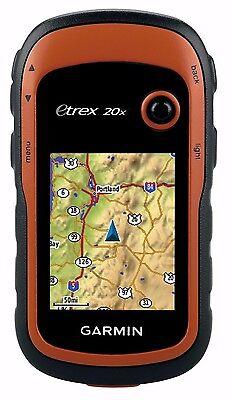 Garmin Etrex 20X Handheld Hiking Gps 2 2  Display Worldwide Basemap 010 01508 00