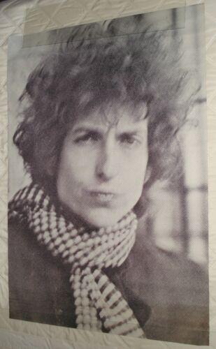Vintage HUGE Bob Dylan head shop Poster  29x41 60