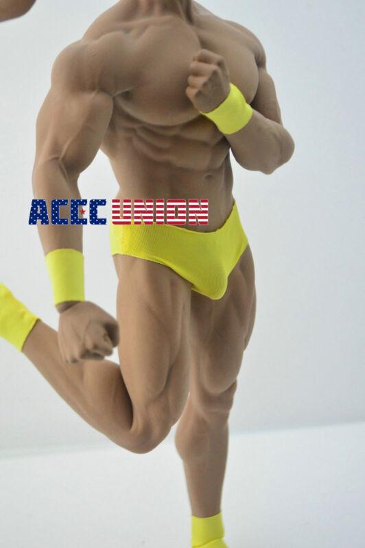 1//6 Captain America Chris Evan Head PHICEN M34 Seamless Male Muscular Figure Set