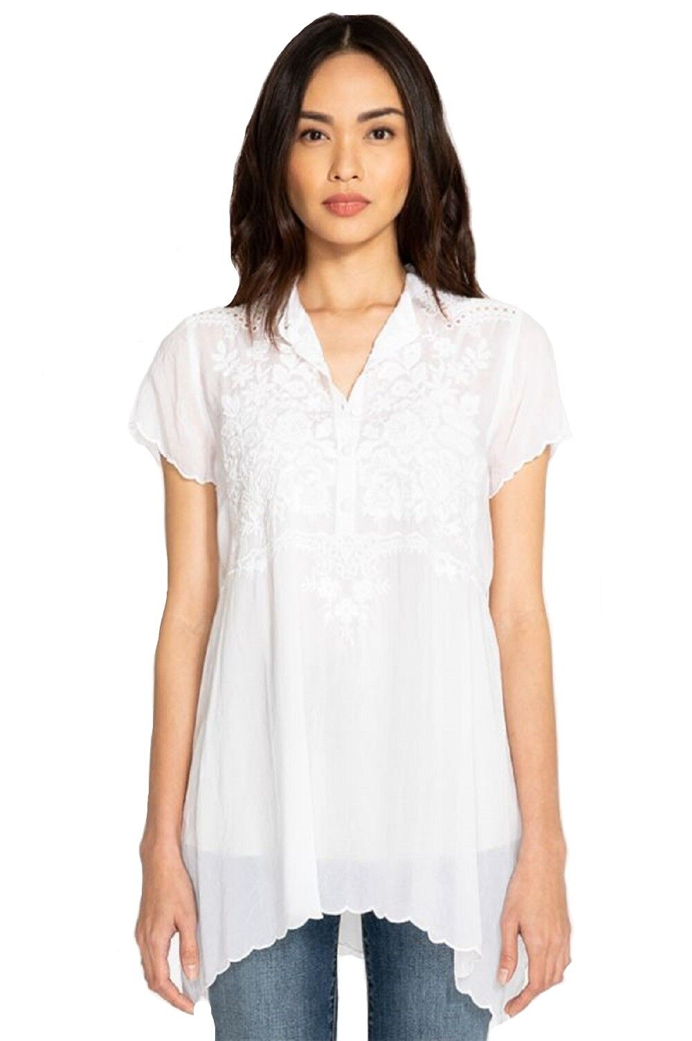 ca2033be105957 Details about Johnny Was Britta Tonal Tunic - C22918-D