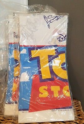 BN Disney Hallmark 1995 Original Toy Story Paper Party Table Cloth 54