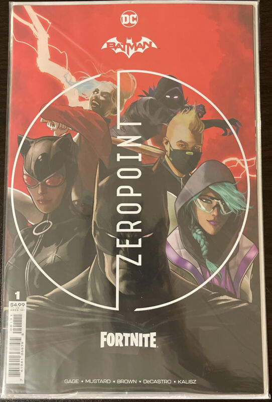 Batman Fortnite # 1 Zero Point (2021) Harley Quinn Code Unlock Cover A 1st Print