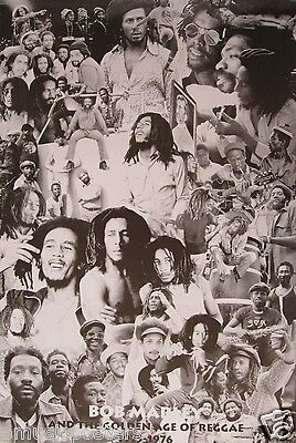 "BOB MARLEY ""GOLDEN AGE OF REGGAE 1975 - 1976"" POSTER FROM ASIA"