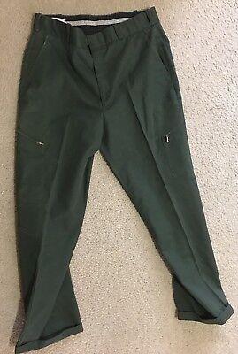 Green Security Uniform Pants Size 35R