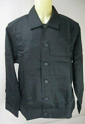 Christopher Raeburn Men's Ruched Black Shirt Jacket Size Large