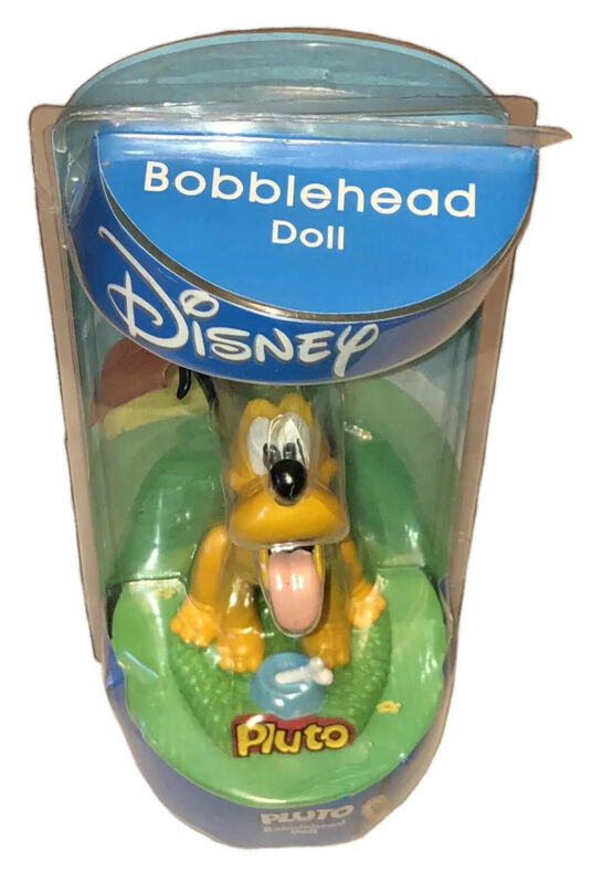 Disney Pluto Dog Bobblehead Doll by Bobble Dobbles Original Packaging Free Ship