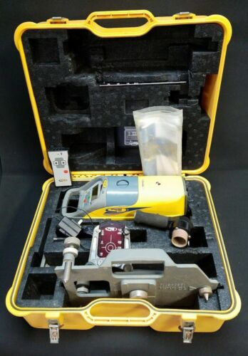 Spectra Model DG511 Red Beam Pipe Laser Level with Base Package Plus Trivet - 14