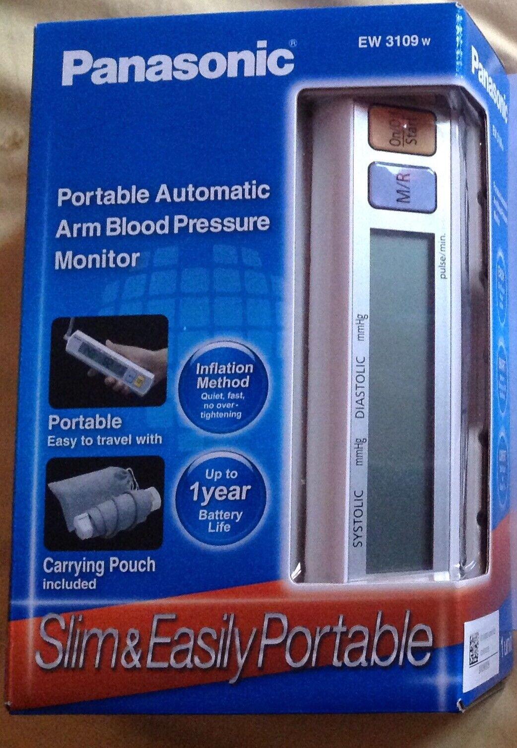 Panasonic EW3109 Automatic Blood Pressure Monitor Cuff FREE