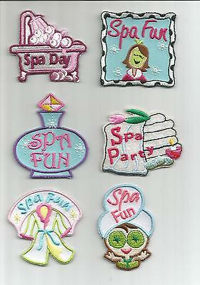 Girl Boy Scout Guides Patch Crest Badge Spa Fun Day Party     Your Choice