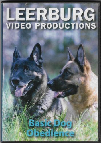LEERBURG VIDEO PRODUCTIONS Basic Dog Obedience DVD (Ed Frawley)