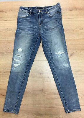 Karen Millen Limited Edition Jeans, Hand Razored, Atelier Jeans Size 12 PV093