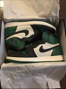 Jordan pine green 1s size 11.5 comes with receipt