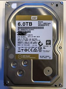 6 TB western digital gold