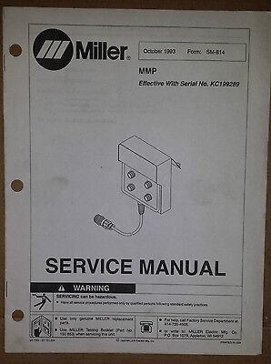 Miller Service Manual Mmp Manual Mig Welder Pulse Pendant