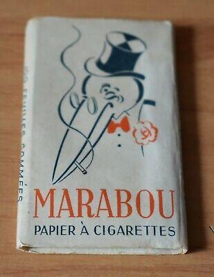 1 x Papier à cigarettes rolling papers zigarettenpapier Papel fumar Marabou