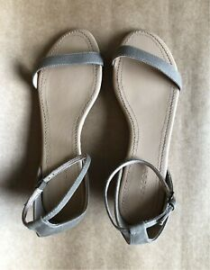TRENERY - Strappy low-wedge flats