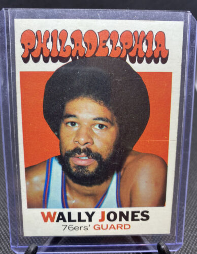 1971-72 Topps Set Break 42 Wally Jones SPORTING ARCHIVES  - $0.99