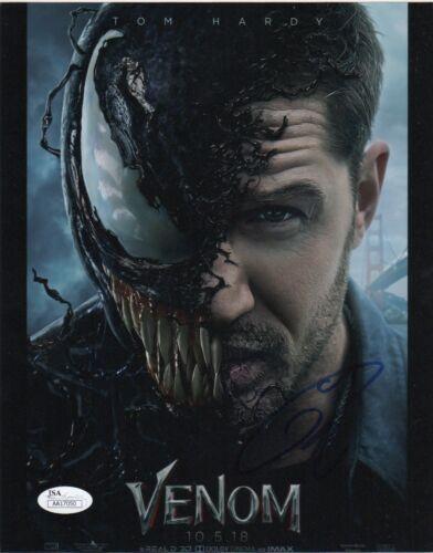 Tom Hardy Venom Autographed Signed 8x10 Photo JSA COA EE16