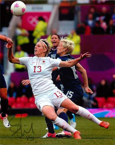 Sophie Schmidt Signed London 2012 Olympics 8x10 Photo EXACT Proof Tokyo Gold B