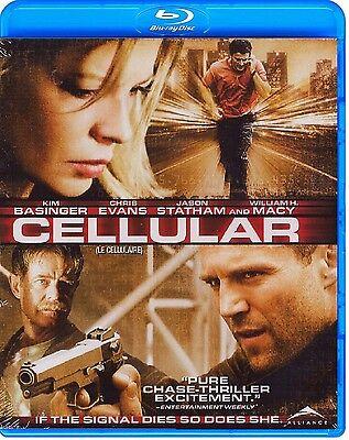 Cellular  Kim Basinger  Jason Statham   New Blu Ray