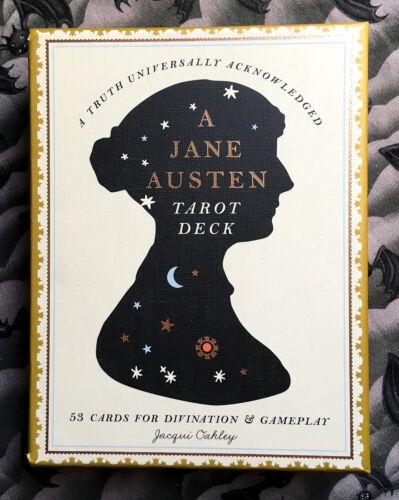 Jane Austen Tarot Deck: 53 Cards for Divination and Gameplay - book & deck set